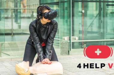 Innowacja w szkoleniu z Pierwszej Pomocy - 4 HELP VR